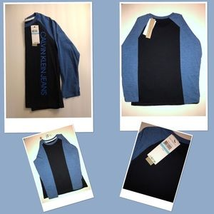 Boys Long Sleeve Shirt by Calvin Klein Jeans